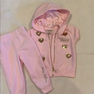 JUICY Couture 2 pcs outfit